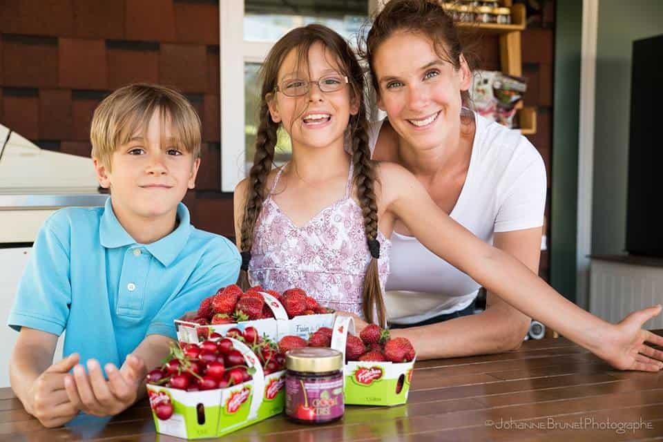 Kiosque photo famille